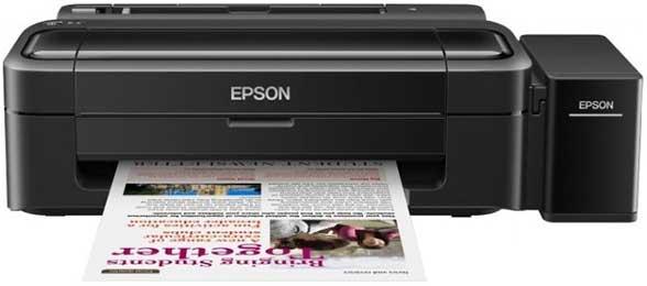 Принтер Epson L132 с системой непрерывной подачи чернил (СНПЧ)