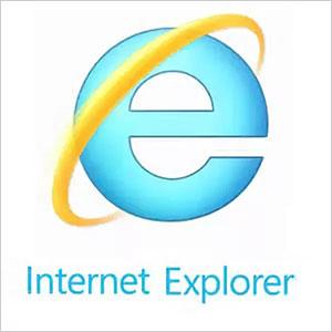 Браузер Internet Explorer - логотип